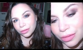 Bridal Beauty Week Day 5 | Soft Smokey  Eyes and Nude Pink Lips Make Up Tutorial