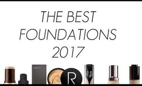 THE BEST FOUNDATIONS 2017!