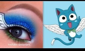 Fairy Tail's Happy Makeup Tutorial