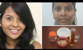 How to get glowing skin naturally at home- Brightening Cucumber Rose face pack - Skincare makeupinfo