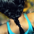 Double french braids.
