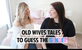 TESTING OLD WIVES TALE PREDICTIONS FOR BABY BOY OR GIRL!