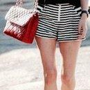 Summer look ( high waisted shorts )
