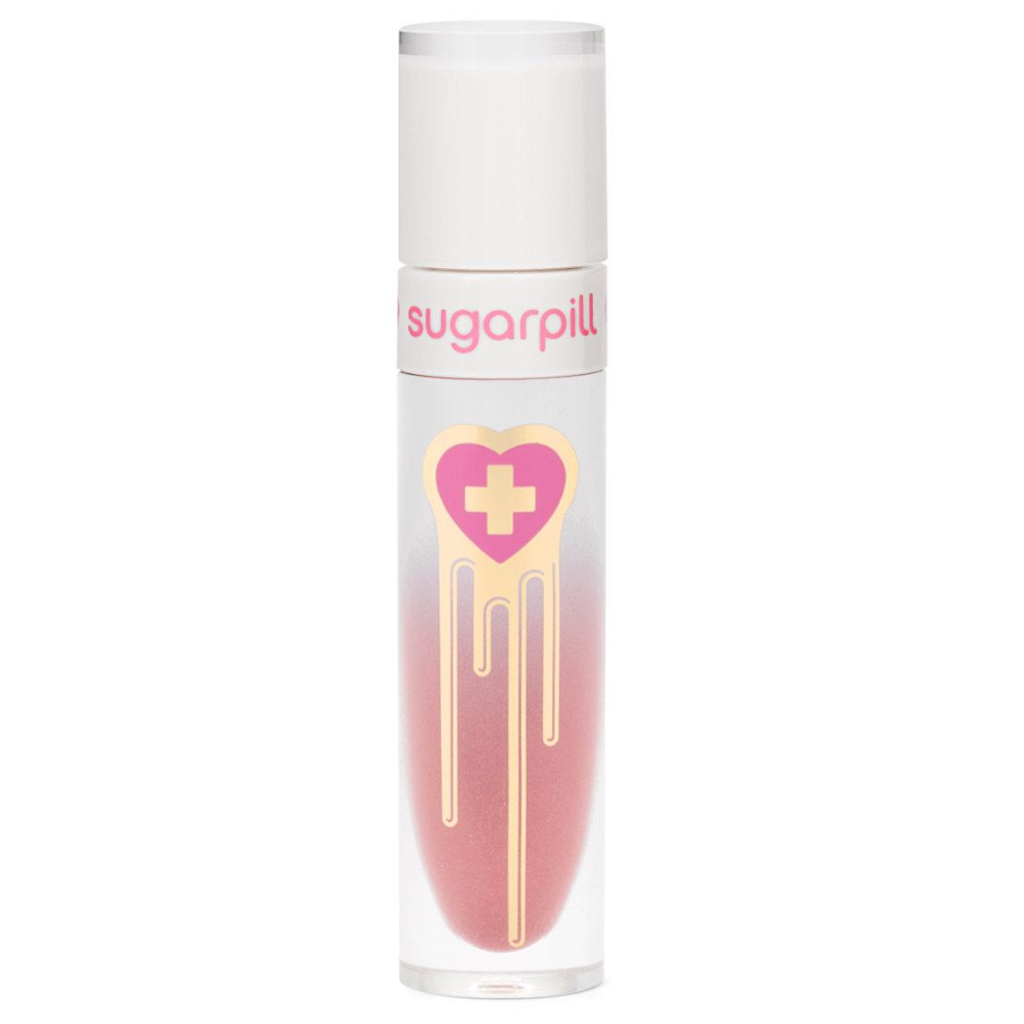 Sugarpill Cosmetics Liquid Lip Color Cherish product swatch.