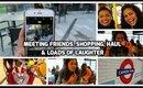Weekend Vlog:  Meeting Friends, Shopping, Haul & Loads Of Laughter || Snigdha Reddy