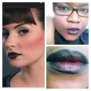 Black nd Red Lips