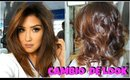 MI CAMBIO DE LOOK / NEW HAIR LOOK tousled copper long bob | auroramakeup