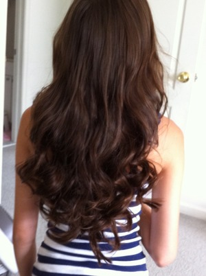 Plz leave me a comment if you want a pictorial of these overnight curls that I did on myself ;)