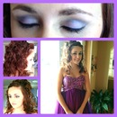 Sugar Plum Smokey Eye