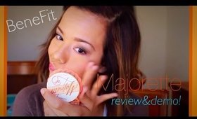 #BeneFit The Majorette Blush Review and Demo  THE #BEST #BLUSH I'VE EVER USED!