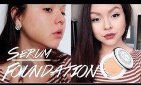 It Cosmetics Serum Foundation First Impression | Demo | @Gabybaggg