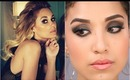 "Lauren Conrad  Inspired Tutorial ""Smokey Eyes+ Dewy Skin"""