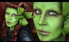 PIN UP POISON IVY: Halloween Makeup Tutorial