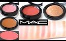 MAC Blush / Highlighter / Bronzer Swatches