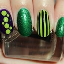 Green Fiend Nails