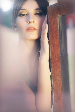 Fashion Photoshoot makeup & hair: by me Photo:Rafa Riudaverts/Model: Mar Bauza