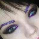 Smokey purple sparkle