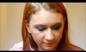 Blue bus Makeup Tutorial