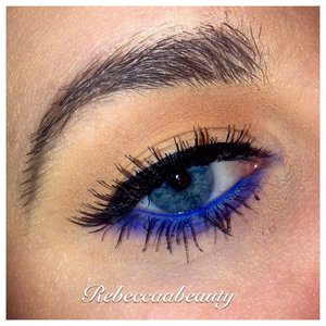 Used electric palette and macs melba on lid and crease :)