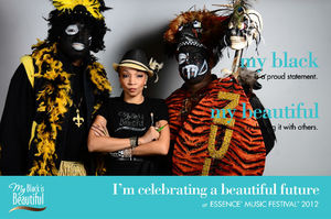 getmade , Cover Girl Queen Collection with New Orleans Mardi Gras Zulu Walking wWrriors