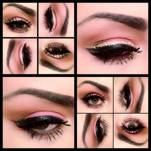 One smoky look with two liner ideas.  Follow me on instagram @makeupmonsterkiki