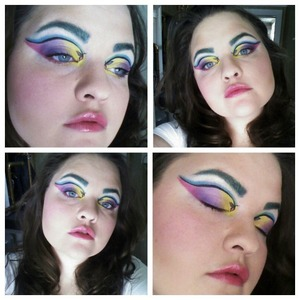 When I think of spring I think colorful, fun, happiness, and butterflies so that is what I incorporated into this look!