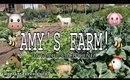 WE TOURED A REAL LIVE FARM! MET A FARMER, PETTING ZOO & FARM TO TABLE!