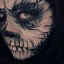 Skull Makeup - Side View