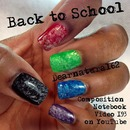 Back to School Nail Look