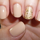 My favourite nude and golden topper