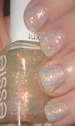 Milani Smooth Base Coat + Essie Shine of the Times!