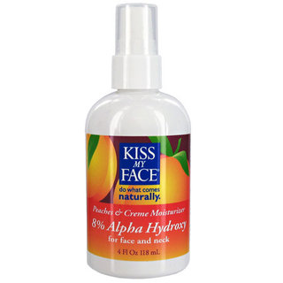 Kiss My Face Natural Face Care - Peaches & Creme AHA 8%
