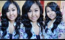 Soft Waves Hair Tutorial ~ Cortex 4-in-1 Clipless Curling Iron