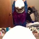 purple semi permanent dye