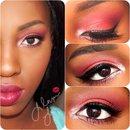 Red/Burgandy Smokey Eye ❤️