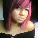 Short pink and black