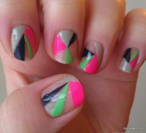 http://sugarmitten.wordpress.com/2012/01/27/neon-tape-mani/