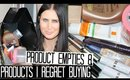 Product Empties & Products I Regret Buying | No12