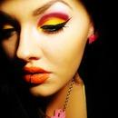 Yellow, Orange, Pink