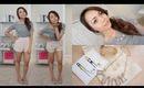 OOTD, Grays & Nudes ft. April Olia Box! | Charmaine Manansala