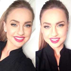 Base:  Prolong Wear - MAC Studio Finish Concealer - MAC Quod Blush - ChiChi Matte Bronze - MAC  Brows: BrowMagic - PONi Cosmetics  Eyes: Nude 3 - Urban Decay Volume Mascara - Maybeline 120 Demi - Ardell   Lips Ruby - LipBelle