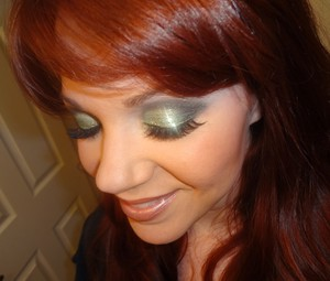 Green Glittery Eyes :-)
