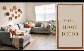 Styling my home for FALL!