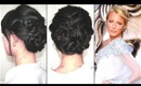 TVM #3 - Marigold Blossom Braided Updo & Update/Help Me :D :D