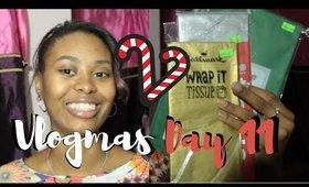 Gift wrap Haul! | Vlogmas Day 11! ♡ Christina Amor