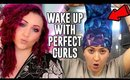 How to Sleep with Curly Hair (and Wake Up with Perfect Curls)   Curly Girl Method