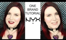One Brand Tutorial Nyx Cosmetics | Drugstore Affordable Cruelty free
