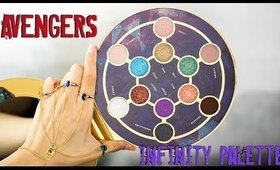Marvel Avengers Infinity War Eyeshadow Palette || Swatches & First Impressions