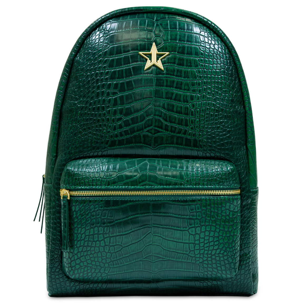 Jeffree Star Cosmetics Crocodile Backpack Green alternative view 1 - product swatch.