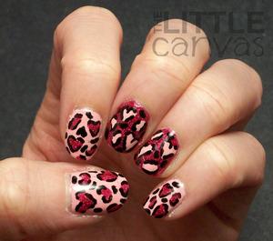 http://thelittlecanvas.blogspot.com/2013/02/pink-leopard-print-with-hidden-hearts.html